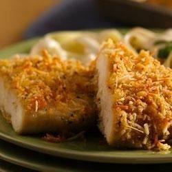 Crispy Garlic-Parmesan Chicken Allrecipes.com
