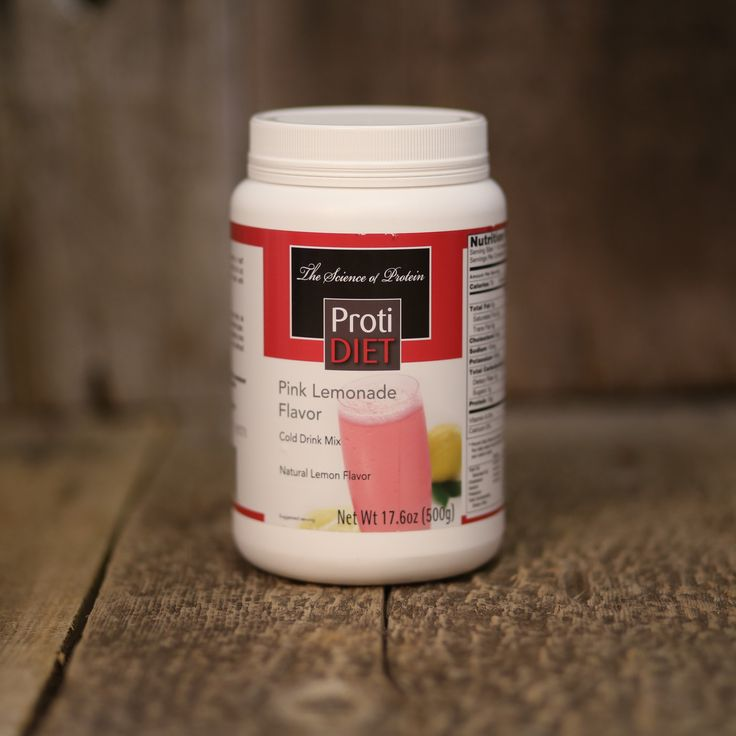 Protidiet Pink Lemonade Pink Lemonade Lemonade Natural Flavors