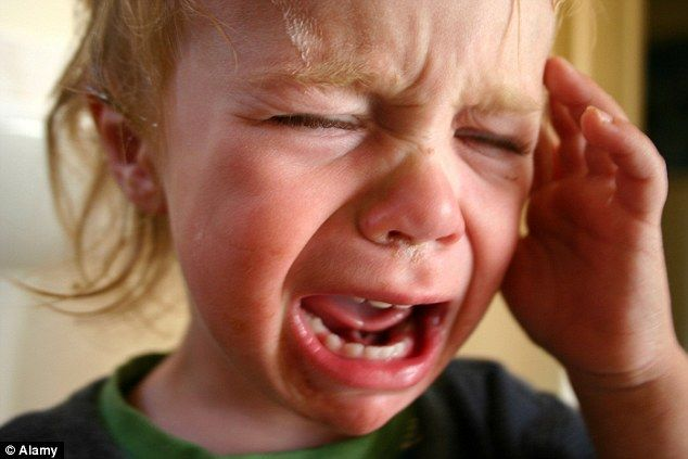 Toddlers as young as two know they're throwing tantrums