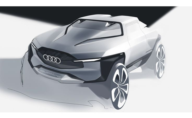 audi cuv on Behance