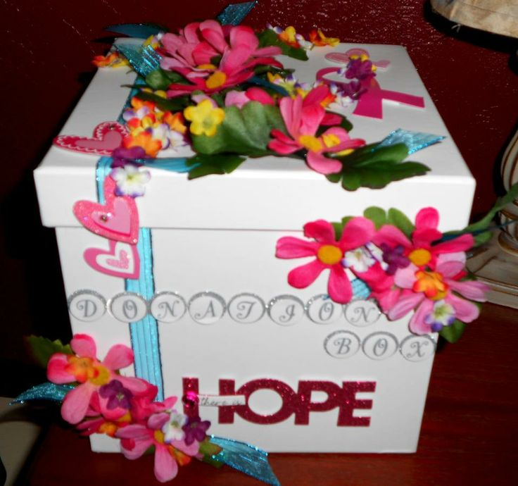 Breat Cancer Donation Box made by Stacy 2012