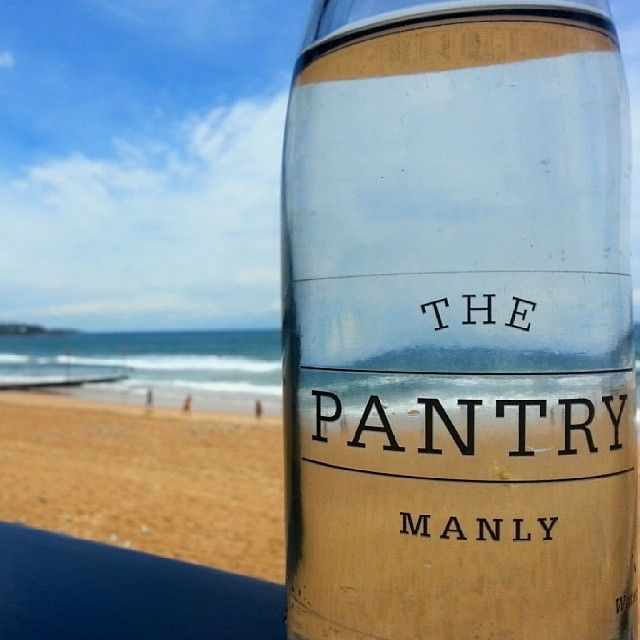 Priceless view @ The Pantry Manly - lovely breakfast with a stunning view