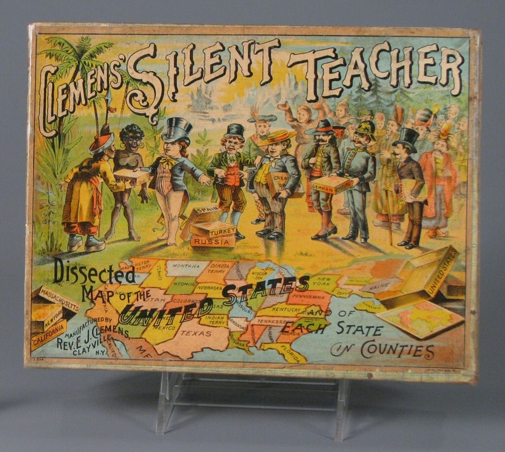 Clemensu0027 Silent Teacher Dissected Map of the