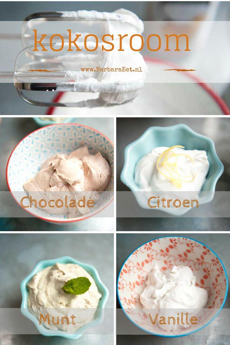 Heerlijke kokosroom. De ideale zuivelvrije vervanger van slagroom!