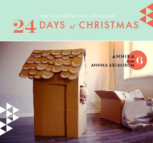 My Scandinavian Christmas day 6 - The House That Lars Built
