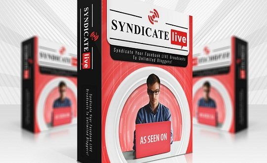 Syndicate Live Pro Review & Bonus Syndicate live is a cloud based software that broadcasts Facebook live events  directly from any newsfeed  to unlimited websites and social platforms. Live video streaming capabilities right out-of- the box so you can hit the ground running with your live streaming strategy. Turn any live stream on FBLIVE or YOUTUBE LIVE into an... https://reviewproductbonus.com/syndicate-live-pro-review-bonus