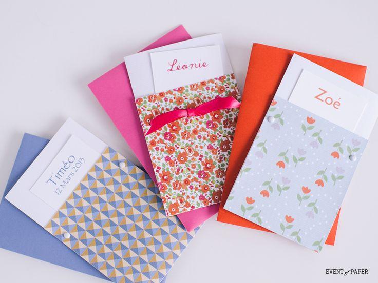 Faire-part de naissance : Pochette... Surprise ! : Event of paper