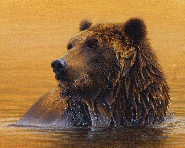 Big Horn Galleries presents the Original Work of Artist Shawn Gould