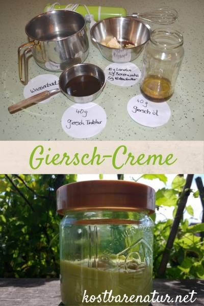 Mit selbstgemachter Creme aus frischem Giersch gichtbedingte Leiden lindern und Hautekzeme behandeln.