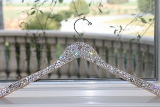 Swarovski Crystal hanger. Perfect for the gypsy closet <3