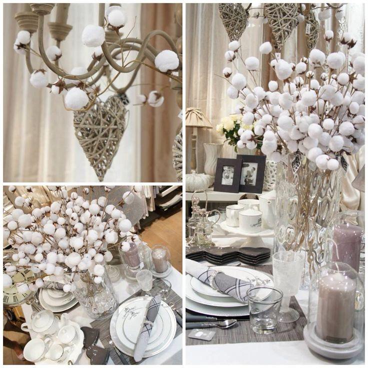 Ambiance raffinée et chic du blanc chez bouchara www bouchara com bouchara christmas fabricdecoration
