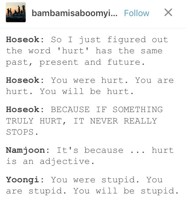 Just let Hobi be proud of himself for once