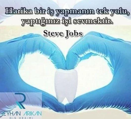 Çağımızın başarı simgelerinden Steve Jobs çok güzel söylemiş.👍☺️