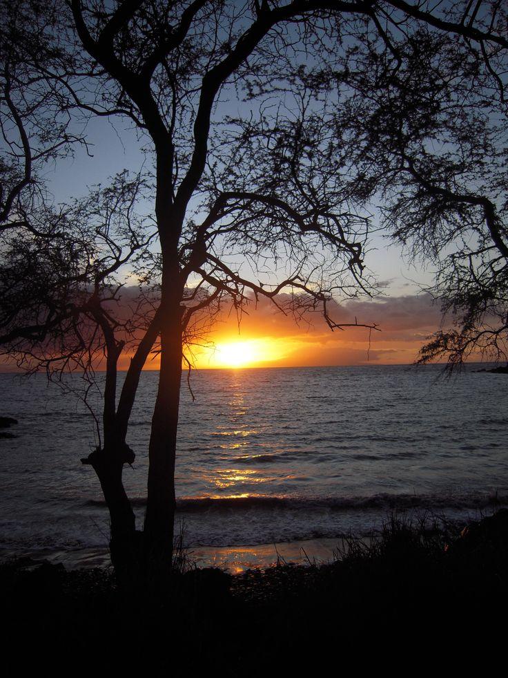 Maui, Hawaii USA Spettacolare tramonto!