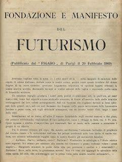 El futurismo no nace en Francia, en comparación con la mayoría de las otras vanguardias, se inicio de Italia y tiene algunos rasgos con el orfismo.