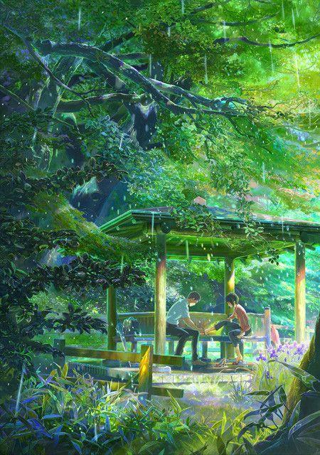 新海誠監督「言の葉の庭」  (C)Makoto Shinkai/CoMix Wave Films