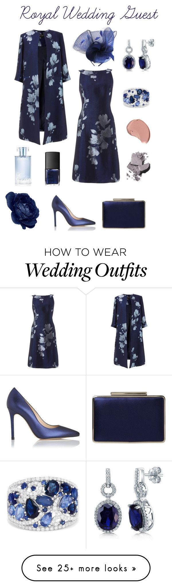 """Royal Wedding Guest"" by marnie1979 on Polyvore featuring L.K.Bennett, Effy Jewelry, BERRICLE, Bobbi Brown Cosmetics, Burberry, NARS Cosmetics and Orlane"