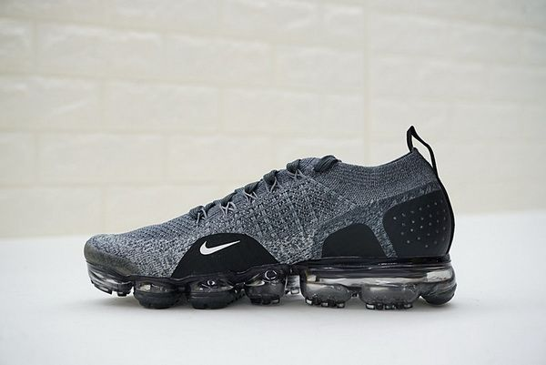 quality design 7e359 bcc29 942843-002 Unisex Nike Air VaporMax Flyknit 2 0 Sneakers Dark Grey Black