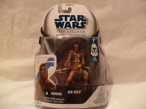 Star Wars The Legacy Collection Ak-Rev Action Figure w/Build a Droid