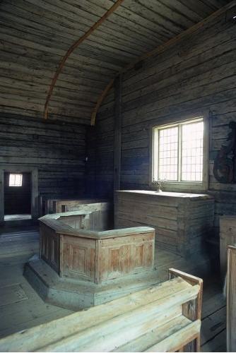 Sodankylän vanha kirkko, alttari; Kaarto, Pasi