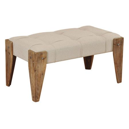 Found it at AllModern - Driftwood Bench in Beige http://www.allmodern.com/deals-and-design-ideas/p/Scandinavian-Bedroom-Shop-Driftwood-Bench-in-Beige~SYL1489~E16197.html?refid=SBP.rBAZEVR00zdLgWAj8YrpAi2DF8JbsEQWmcklMo_Qi30