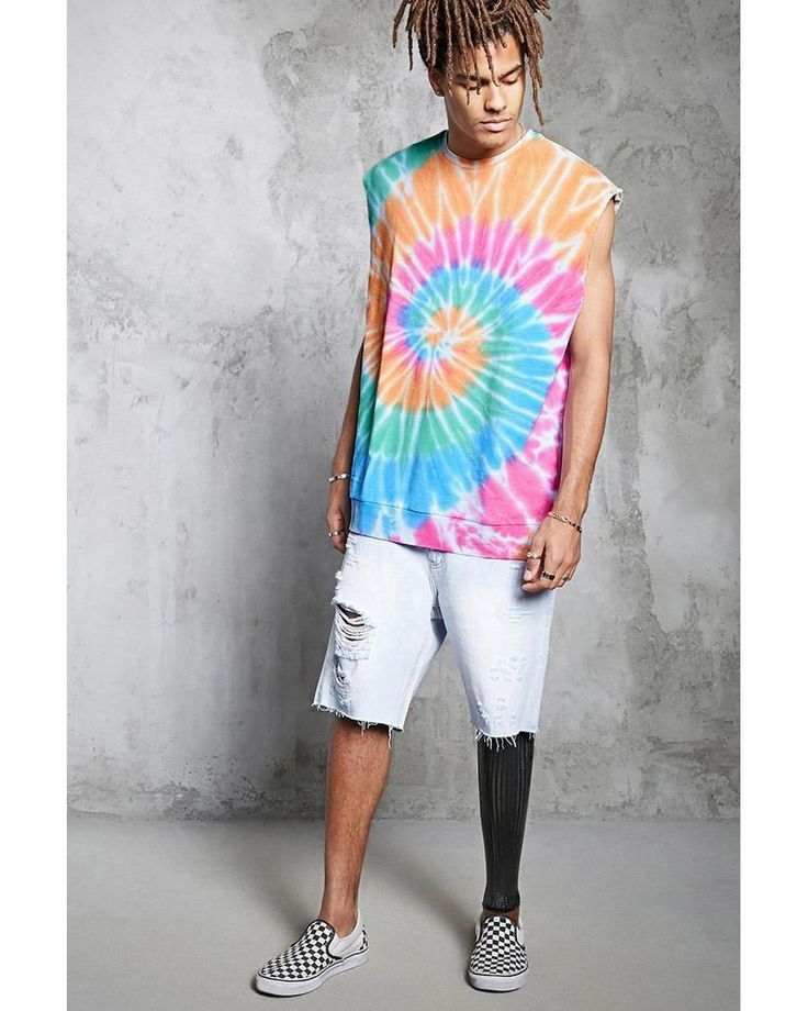 Buy Forever 21 Men's Multicolor Tie-dye Muscle Tee, starting at $21. Similar products also available. SALE now on!