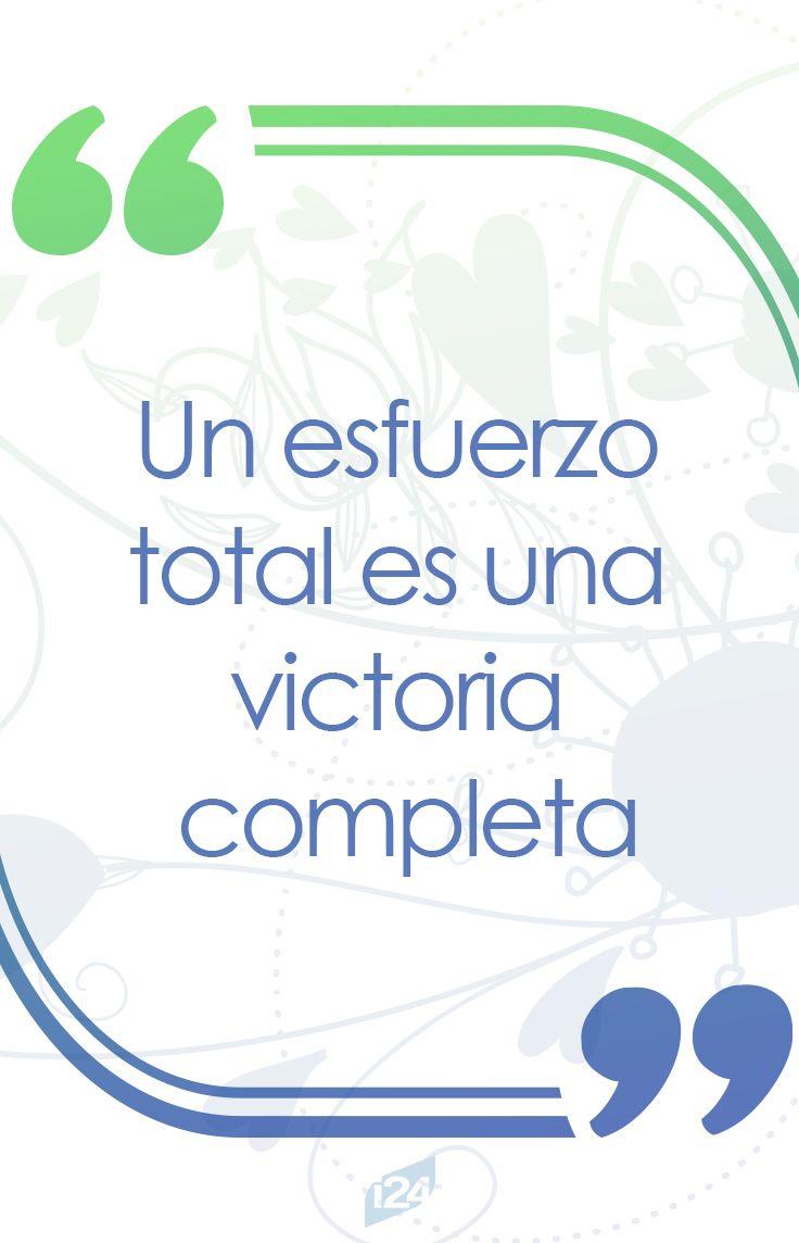 ¡Esfuérzate siempre! #Motivación #Motivation #Frase #Fitness