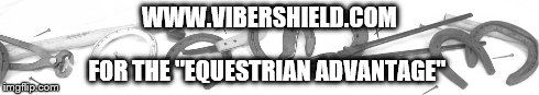 """FYI: With Vibershield Technologies imprinted in TWO nails per hoof you can experience the """"Equestrian Advantage"""" over others... Check out our December Specials too! CLICK HERE FOR THE SCIENCE OF IT ALL! http://www.vibershield.com/farrier/"""