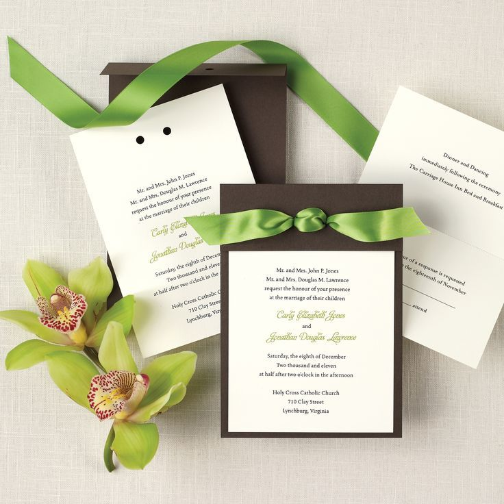 89 best Wedding Invitations images on Pinterest | Card wedding ...