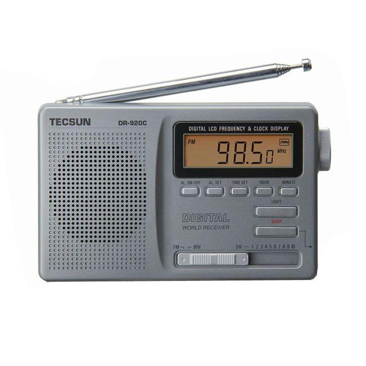 TECSUN DR-920C    Digtal Display FM/MW/SW Multi Band Radio DR920