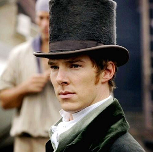Benedict Cumberbatch. In a top hat. Carry on<<< I'd like to carry HIM... Straight to bed ;D
