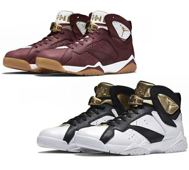 Air Jordan 7 Cigar and Champagne pack. Release June 20th, 2015 for $250 each.