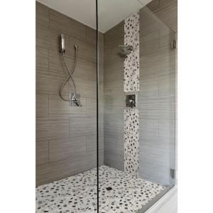 Ms International Metro Charcoal 12 In X 24 In Glazed Porcelain Floor And Wall Tile 16 Sq Ft Case