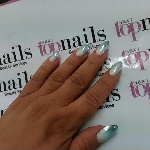 Acrylic mirror nails