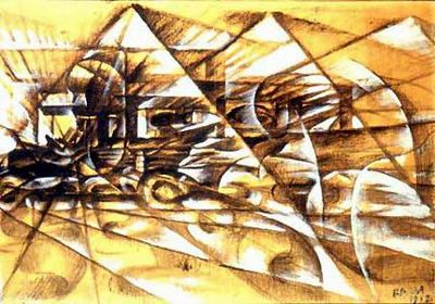 """La modernidad futurista"", Giacomo Balla"