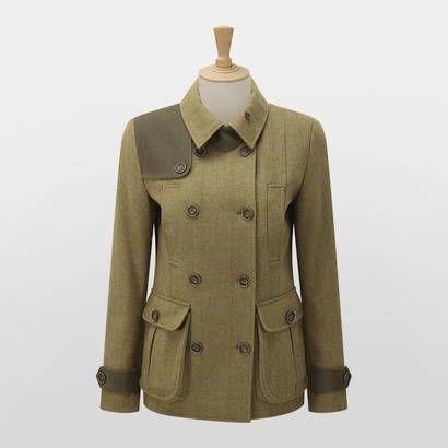 Caldene Wilderhope Country Tweed Shooting Jacket - Ladies