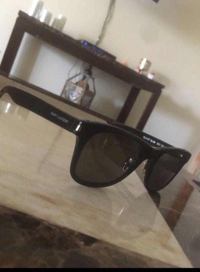 f39185fc8ebc7 YSL Saint Laurent SL 51 SLIM Sunglasses Black Frame Smoke Lenses 51mm  #fashion #clothing #shoes #accessories #unisexclothingshoesaccs  #unisexaccessories ...