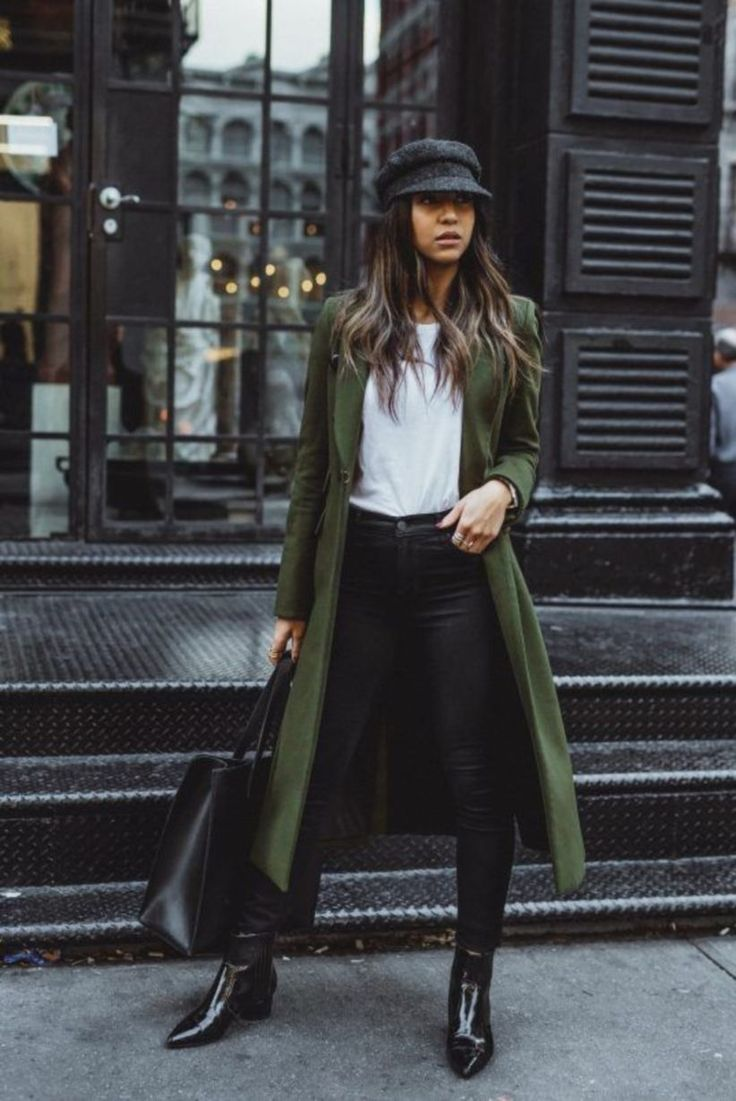 53 Best Winter Coats And What To Wear Them With #Fashion #Women Outfit #Women Ou…