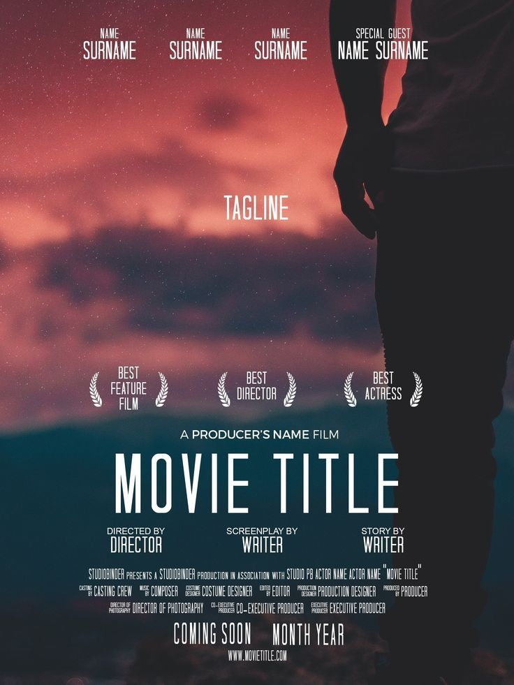 How Do I Create A Movie Poster Create Credits Movie Poster Template Film Poster Design Indie Movie Posters Poster Template Free
