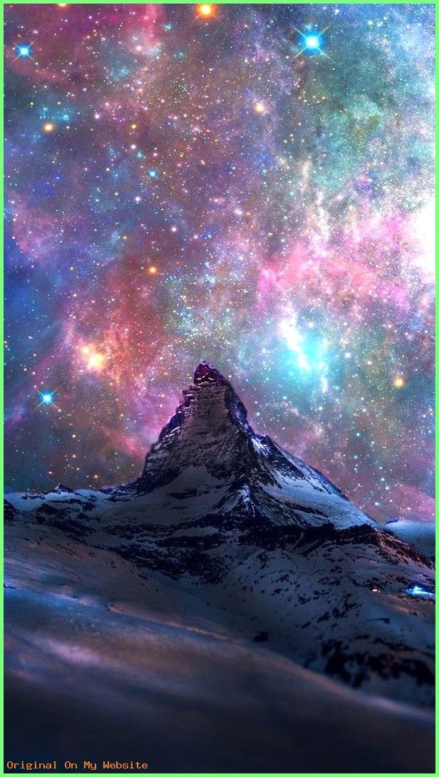 Wallpaper Backgrounds Aesthetic Space Galaxy View From