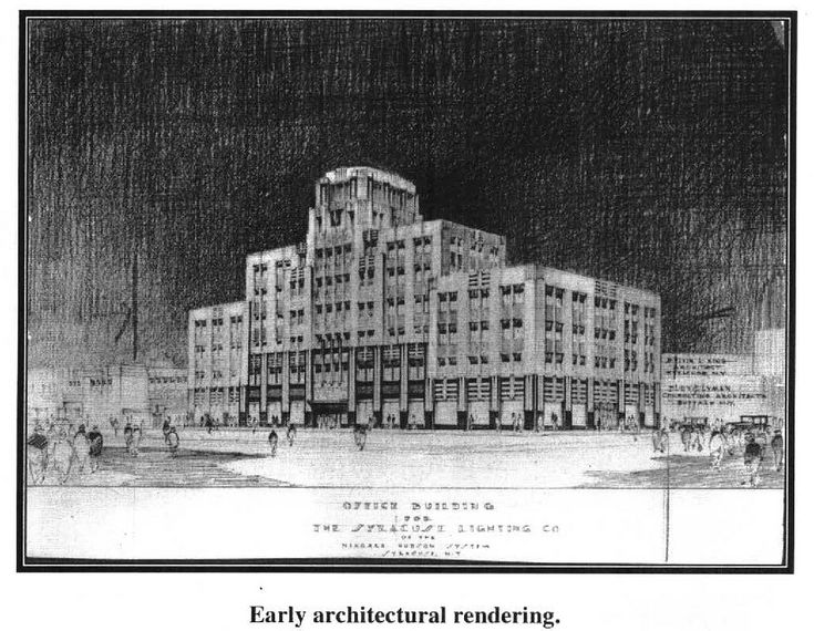 historical photograph courtesy of the New York State Historic Preservation Office  Highlighted New Listing – June 25, 2010 Other name: Niagara Mohawk Building Syracuse, Onondaga County, NY  The Niagara Hudson Building in Syracuse is an outstanding example of Art Deco architecture and a symbol of the Age of Electricity. Completed in 1932, the building became the headquarters for the nation's largest electric utility company and expressed the technology of electricity through its modernistic…
