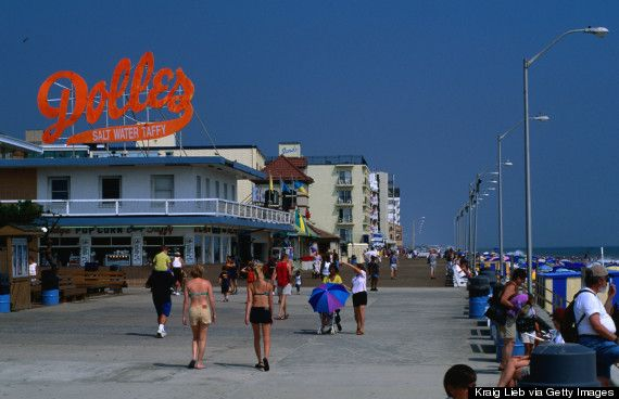 This is the ONE thing you must do in each U.S. State: Delaware - Rehoboth Beach boardwalk