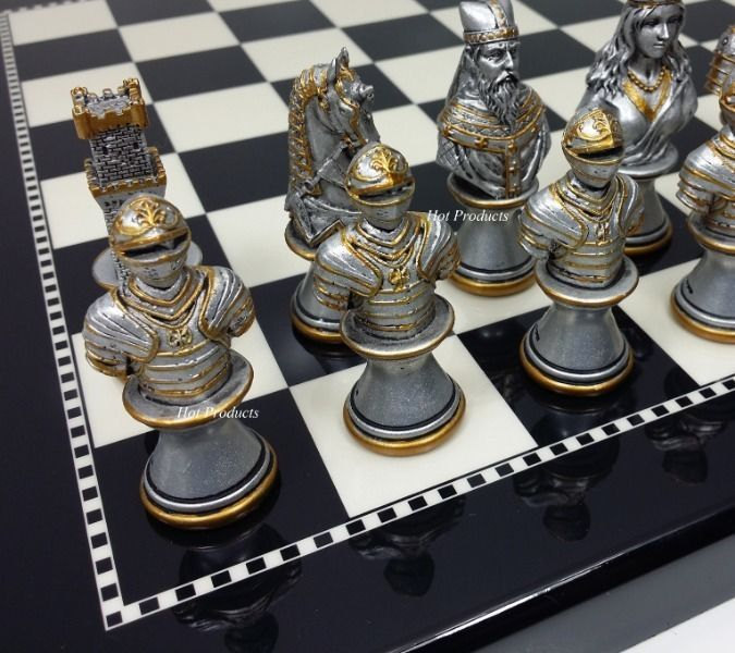 17 best ideas about chess boards on pinterest chess sets chess and diy chess set - Ornate chess sets ...