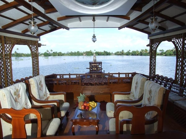 View from Houseboat
