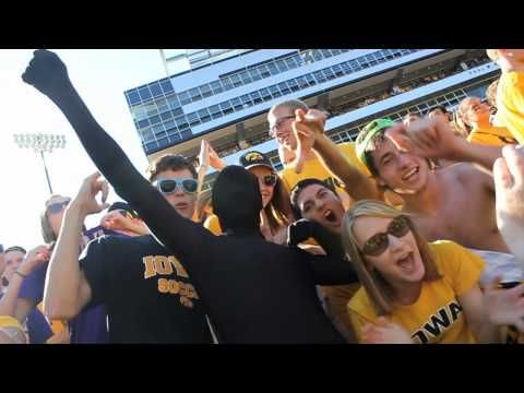 Experience Iowa Hawkeye Football Spirit (+playlist)