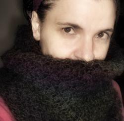 Gratis stickbeskrivning: sticka en huva, sjal, poncho