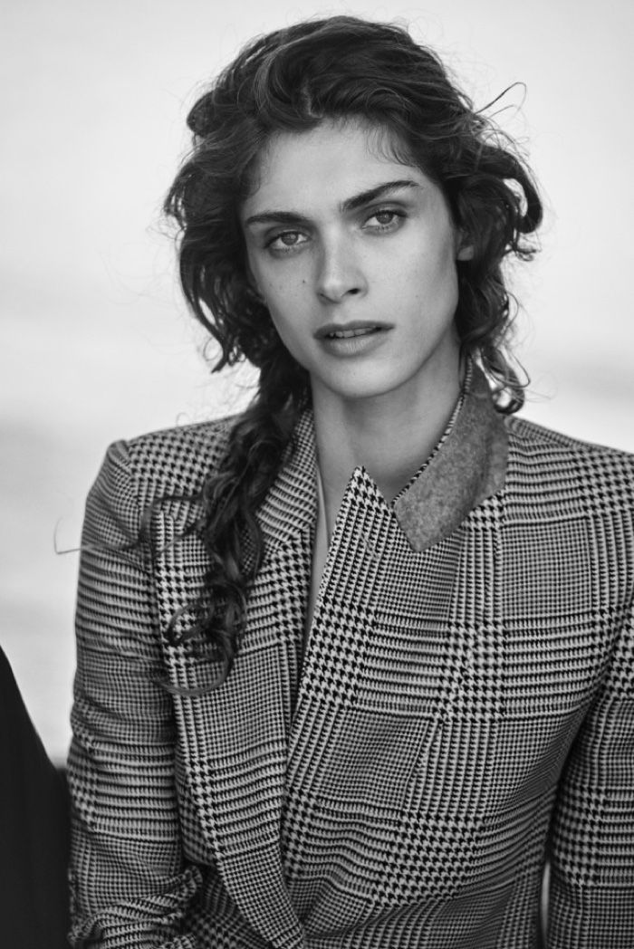 Elisa Sednaoui gets her closeup in Giorgio Armani's New Normal 2016 campaign