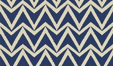Dhurrie+(110448)+-+Scion+Wallpapers+-+A+simple+chevron+with+a+textured+edge.+Shown+here+in+indigo+colouring+-+more+colours+are+available.+Please+request+a+sample+for+true+colour+match.+Paste-the-wall+product.+Actual+pattern+repeat+is+10.2cm.