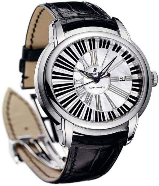 Audemars Piguet Millenary Pianoforte 15325bc.oo.d102cr.01 18K White Gold 45mm Mens Watch.  Audemars Piguet watch – search for AP watch can be AP watch men, AP watch price, ap watch for sale or audemar watch.