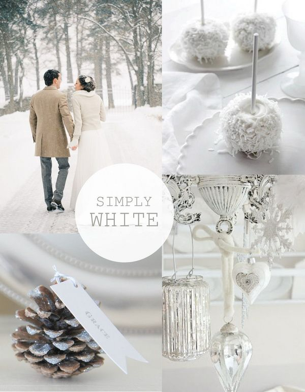 Hot christmas winter wedding color palette ideas wedding for Winter wedding color palettes